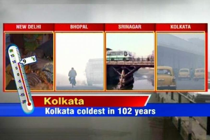 Kolkata experiences coldest day in over 100 yrs