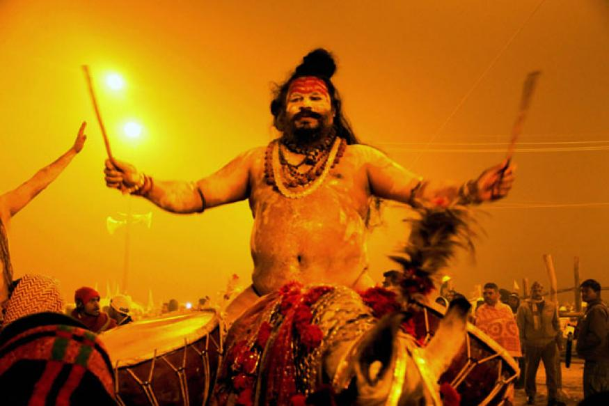 Lakhs take holy dip as Maha Kumbh begins