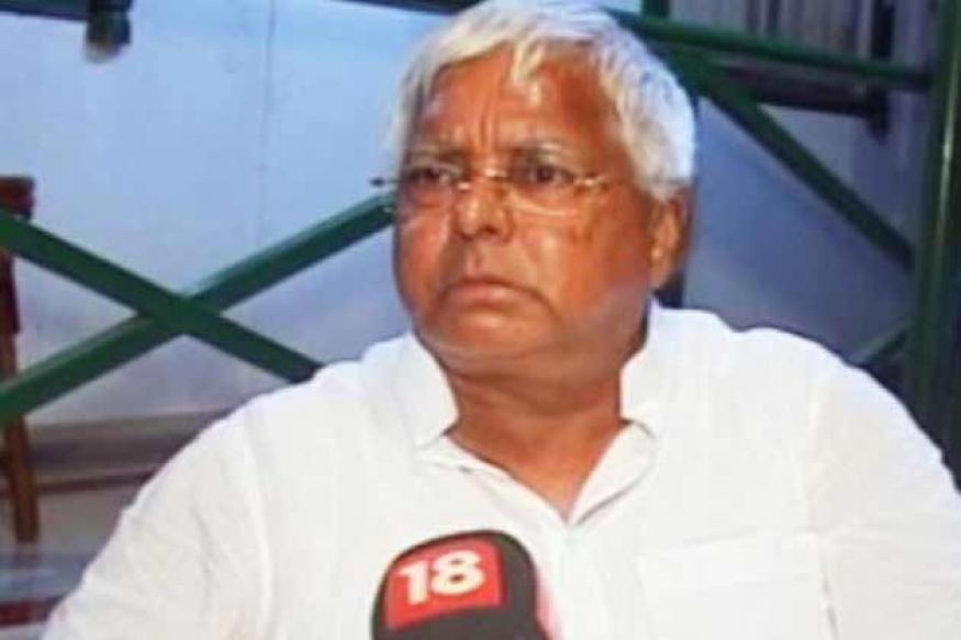 Lalu Prasad is like a fish without water: Nitish
