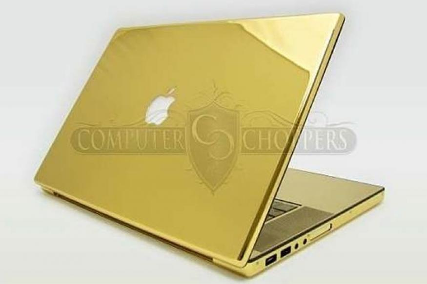Platinum, gold-plated MacBook Pro on sale