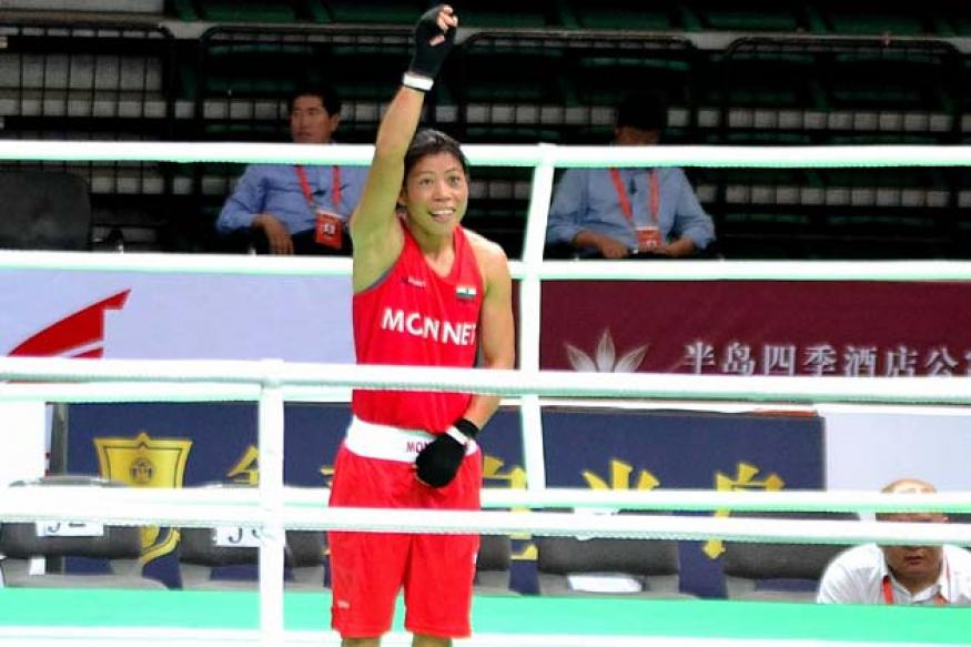 Mary Kom delighted with Padma Bhushan award