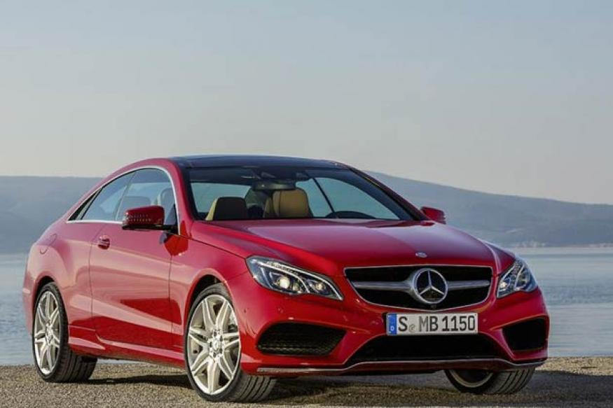 Mercedes unveils 2014 E-Class Coupe and Convertible