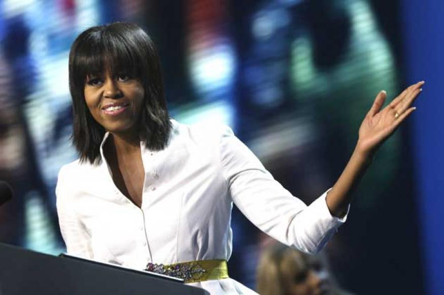 Snapshot: Michelle Obama surprises all with new hairdo