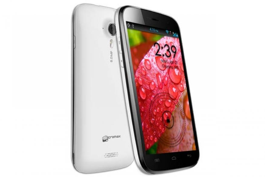 Micromax A116 Canvas HD with quad-core processor announced