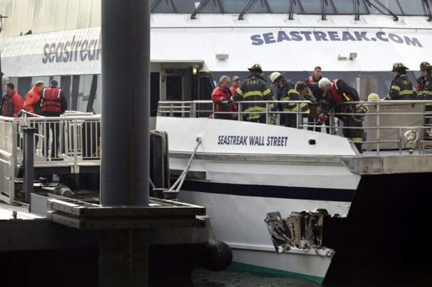 US: High-speed ferry strikes NY dock; dozens injured