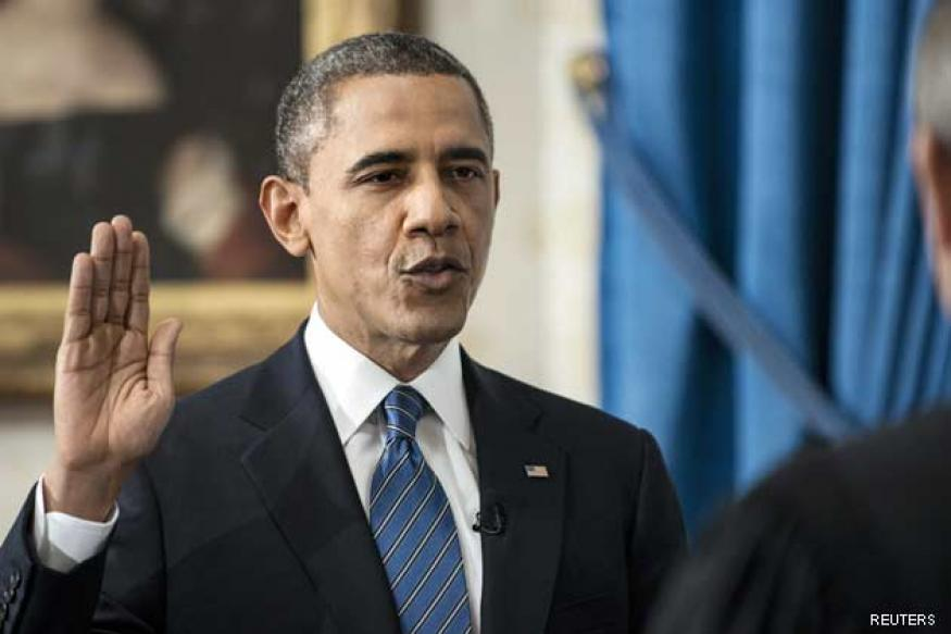 Obama sworn in to second term as US president