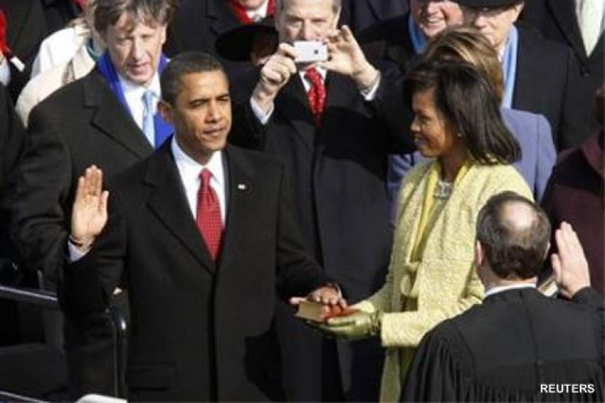 US: Obama to celebrate second term with oaths, parade