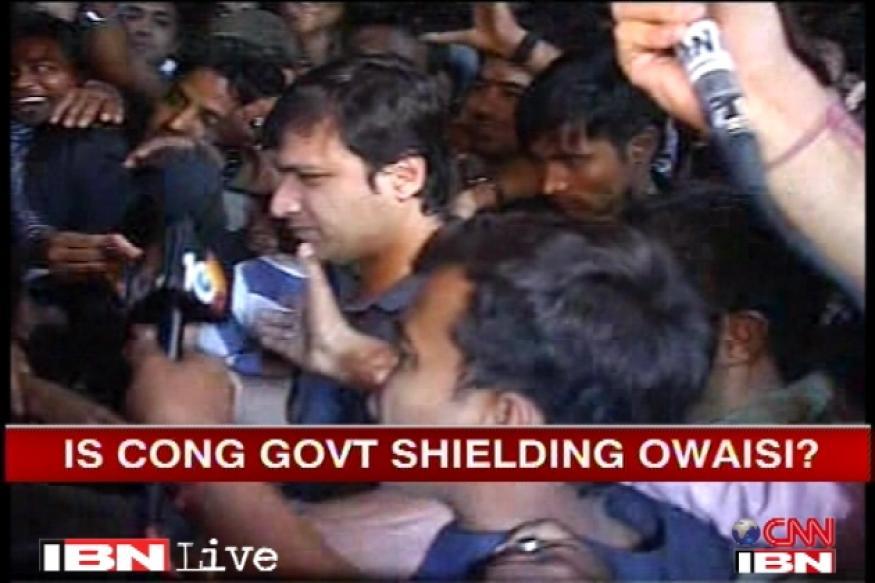 Congress trying to make Owaisi a hero: BJP