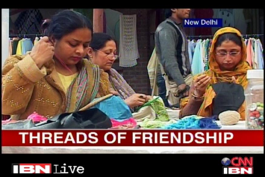 Pak artisans exchange ideas with Indians at a programme in Delhi