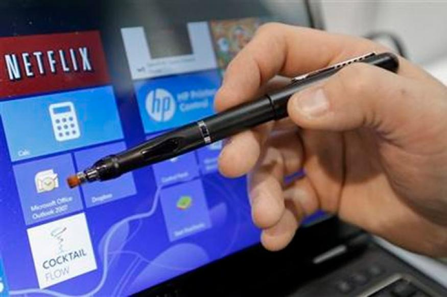 CES 2013: Now, a digital pen that makes old monitors touch-ready