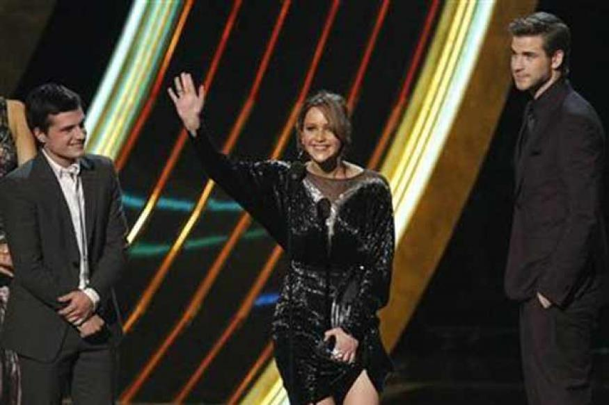 'The Hunger Games' leads at People's Choice Awards