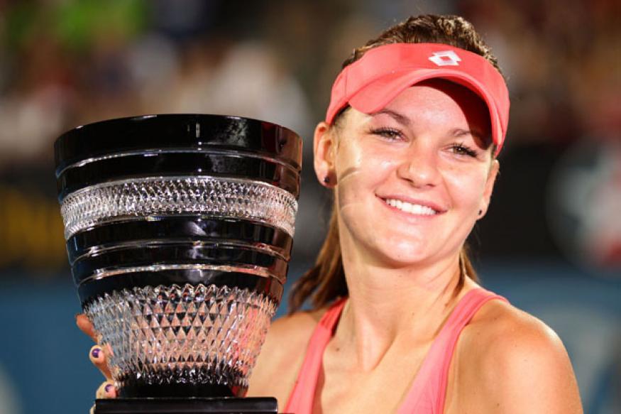 Radwanska downs Cibulkova to clinch Sydney title