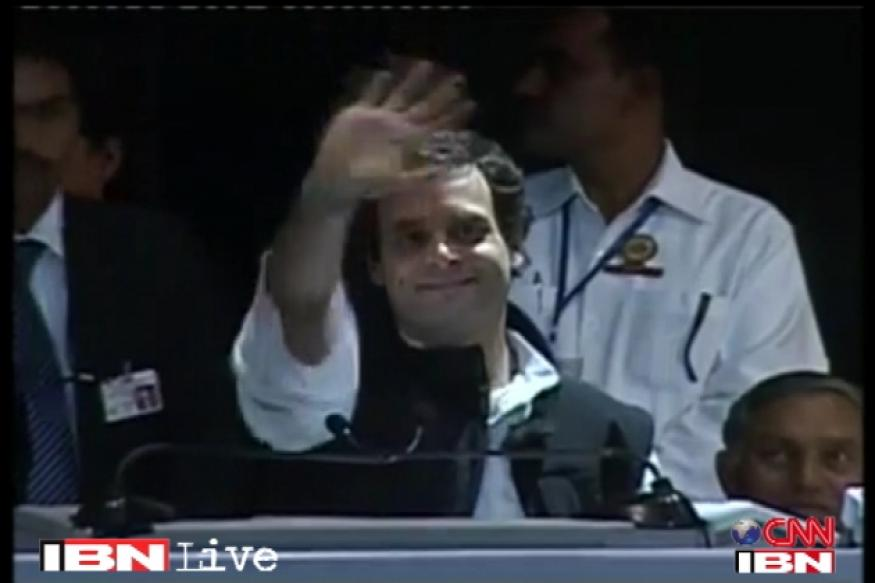 Congress a funny party, quips Rahul Gandhi