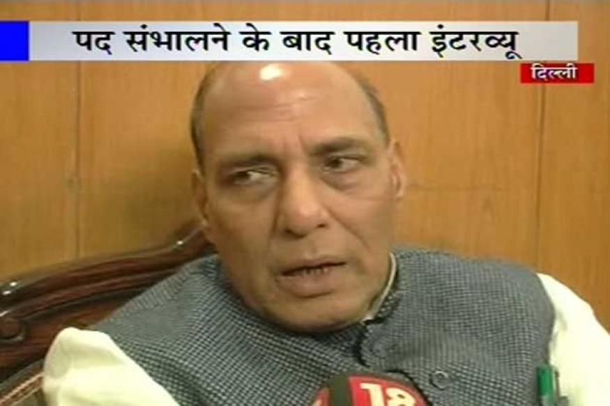 Advani not behind Gadkari opting out: Rajnath