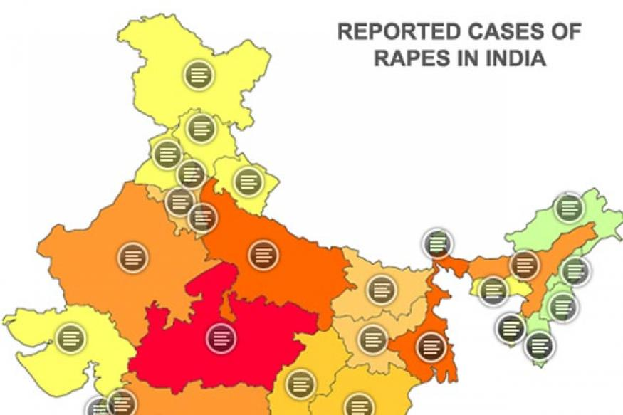 'Rape map' of India