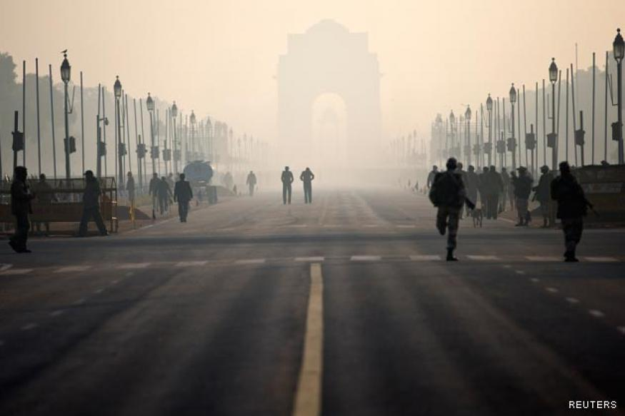 Tight security cover in Delhi on Republic Day