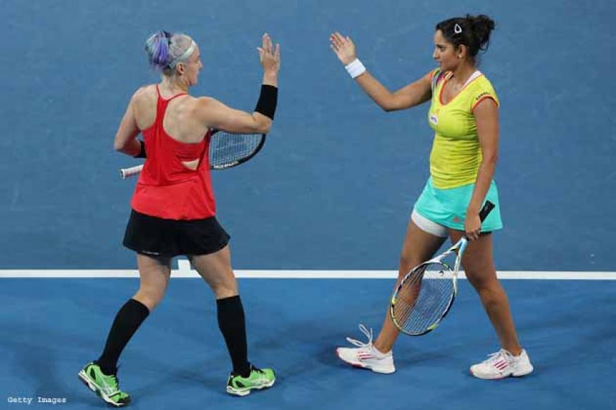 Sania-Bethanie win Brisbane title