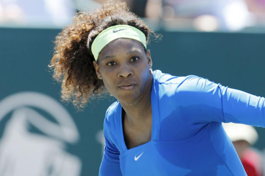 Serena not under pressure ahead of Australian Open