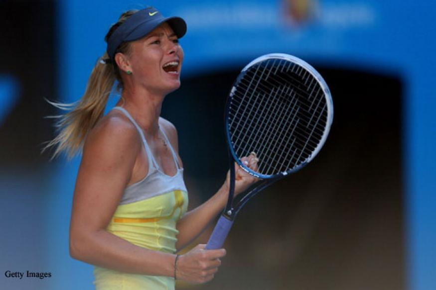 Sharapova beats Makarova to set up semis clash with Li Na