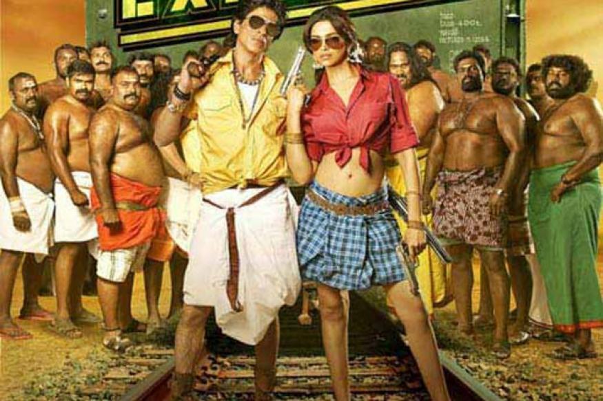 Shah Rukh's 'Chennai Express' posters spark debate