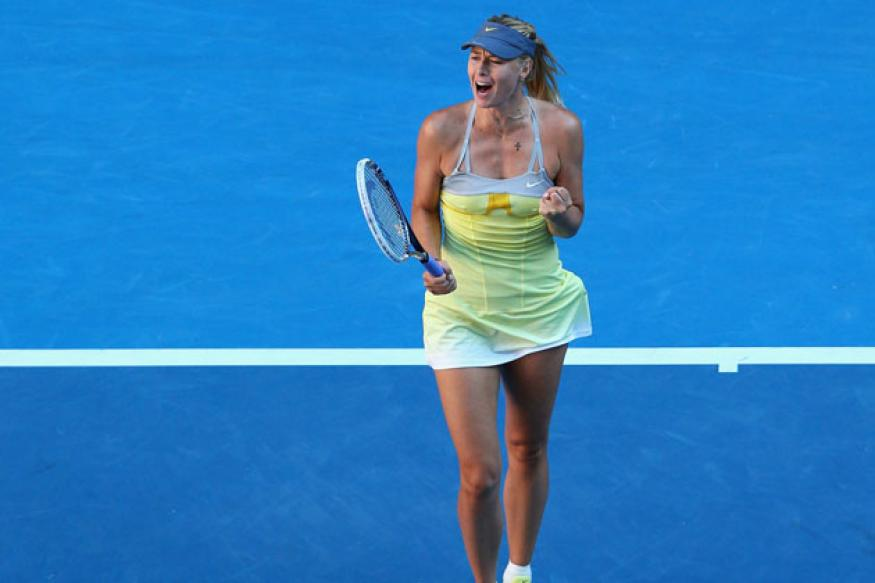 Sharapova, Djokovic impressive on way to Aus Open semis