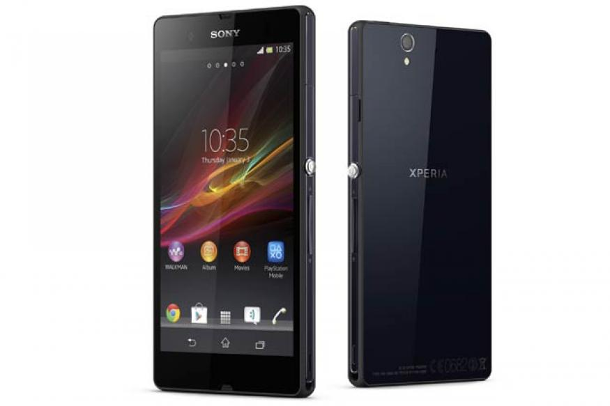 Sony introduces 5-inch Xperia Z Android smartphone