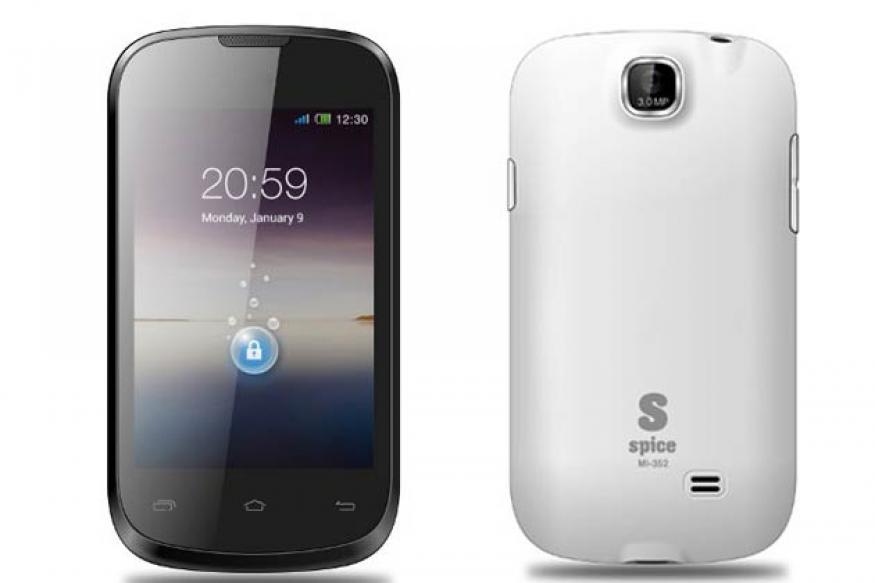 Spice Stellar Xtacy Mi-352 launched, available online for Rs 4,634