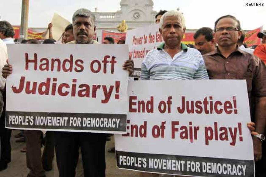Sri Lanka: Rajapaksa names Peiris new chief justice