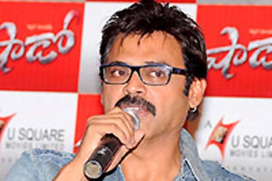 Telugu actor Venkatesh:'Shadow' is an action entertainer