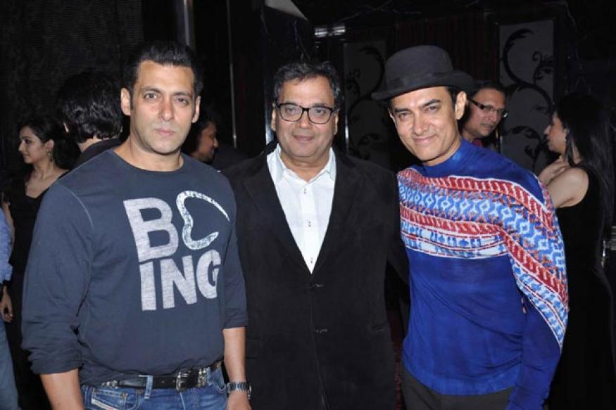 Fashion Watch: Aamir Khan brings back the hat at Subhash Ghai's party
