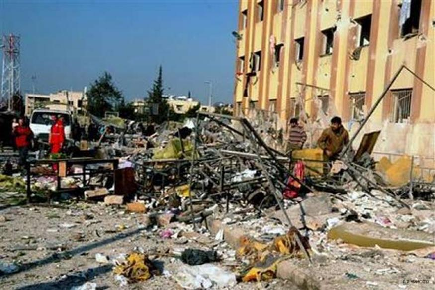Death toll in Syria university blasts reaches 87