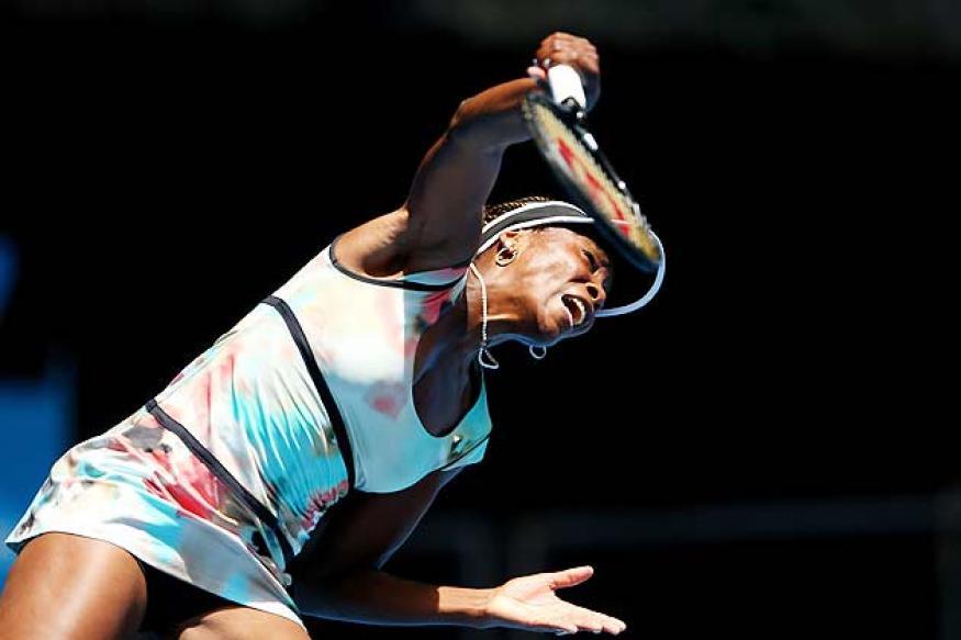 Venus Williams wins 1st match at Australian Open
