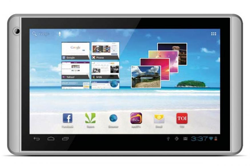 Videocon launches 7-inch Android tablet at Rs 4,799
