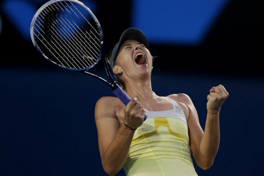 Sharapova thrashes Venus to storm into 4th round