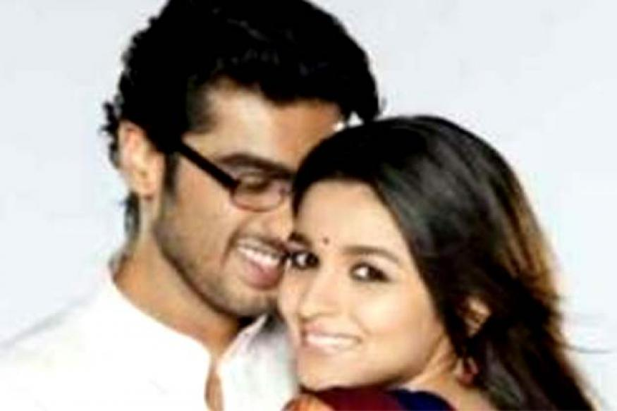 Revealed: The first look of Alia Bhatt and Arjun Kapoor in '2 States'