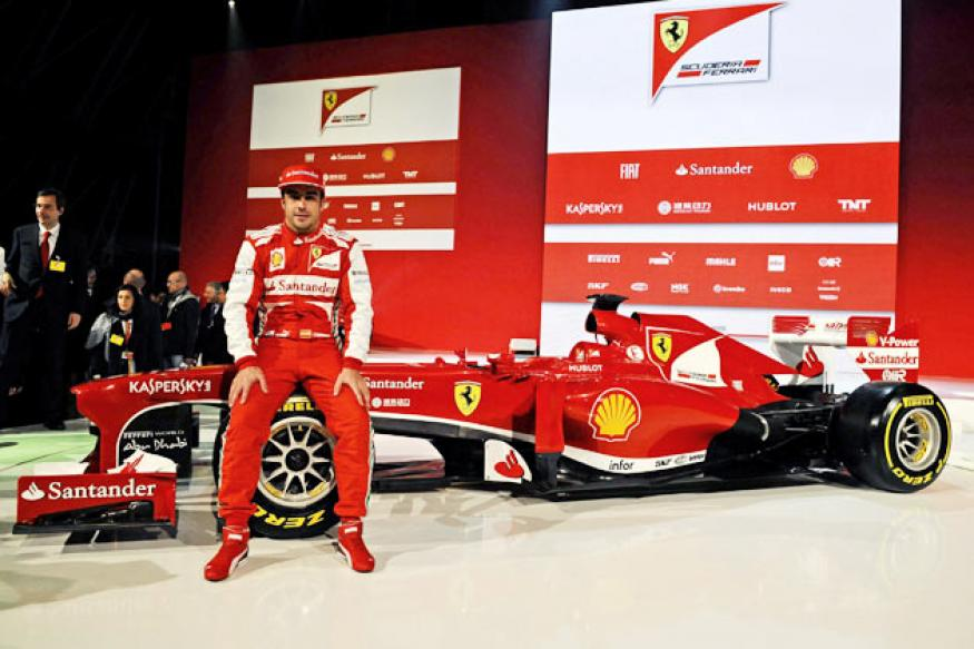 Ferrari unveil new F138 car for 2013