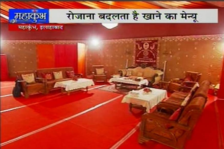 Kumbh: Juna Akhara saint's eco-friendly ashram