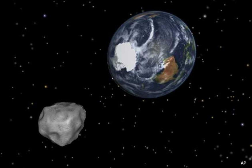Newly discovered asteroid to pass close by Earth today