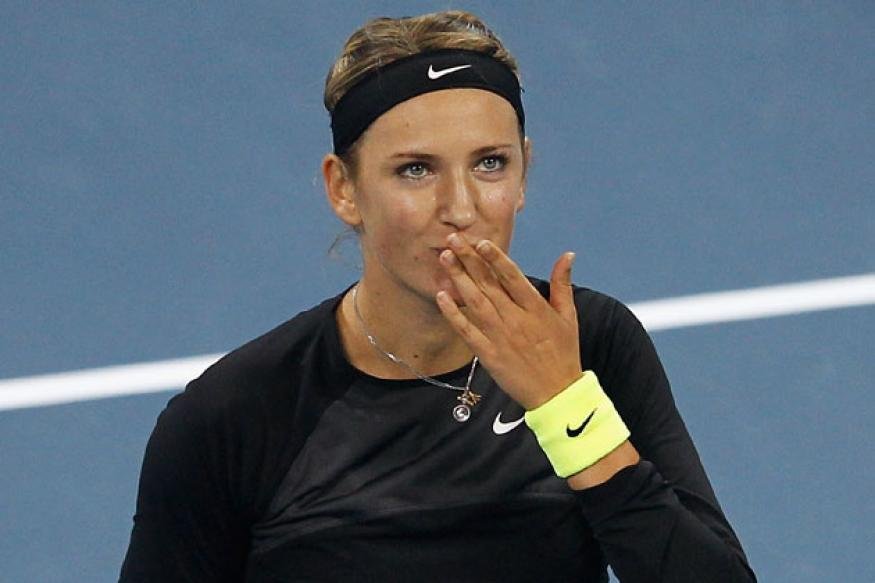 Azarenka beats Radwanska in straight sets to reach the final
