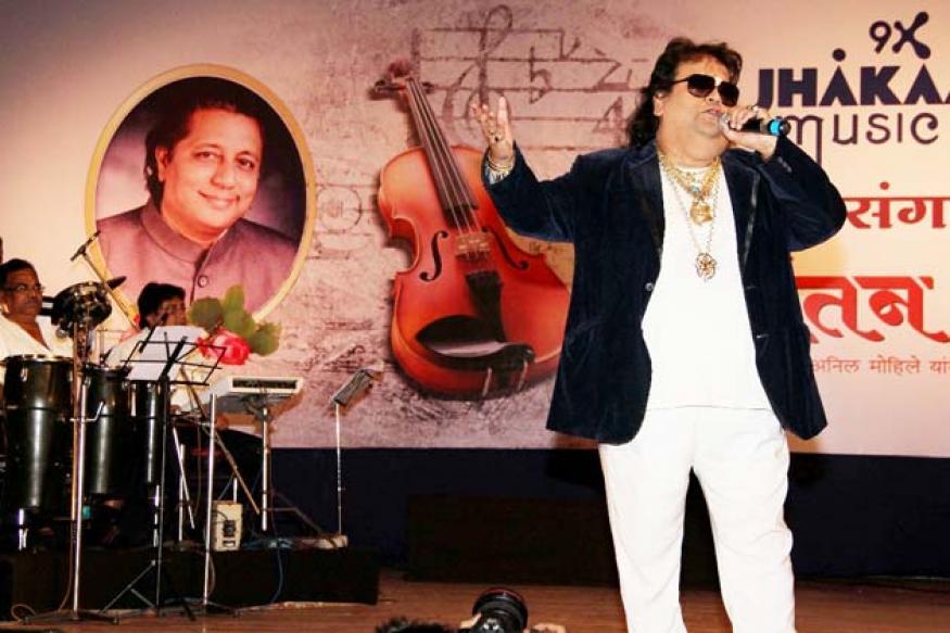Snapshot: OMG! Has Bappi Lahiri lost weight?