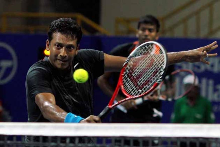 Bhupathi-Llodra in quarters of Dubai ATP event