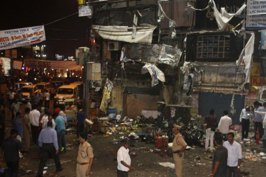 Hyderabad residents say blasts won't scare them