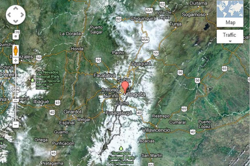 Powerful 7-magnitude earthquake rocks Colombia