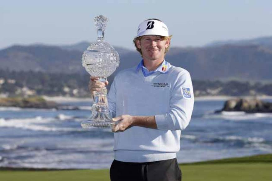 Sizzling Snedeker triumphs at Pebble Beach