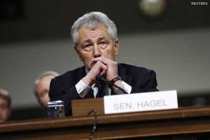 Chuck Hagel sworn-in as new US Defence Secretary