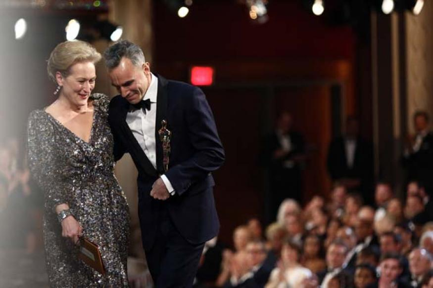 Historic Oscar hat-trick for 'Best Actor' Daniel Day-Lewis