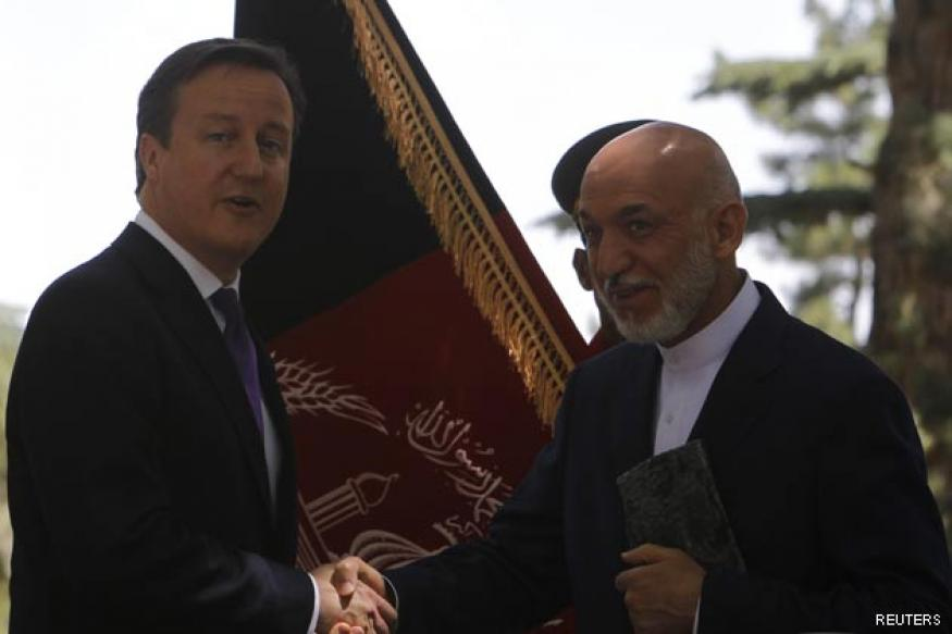 British PM hosts Afghan-Pakistan co-operation talks