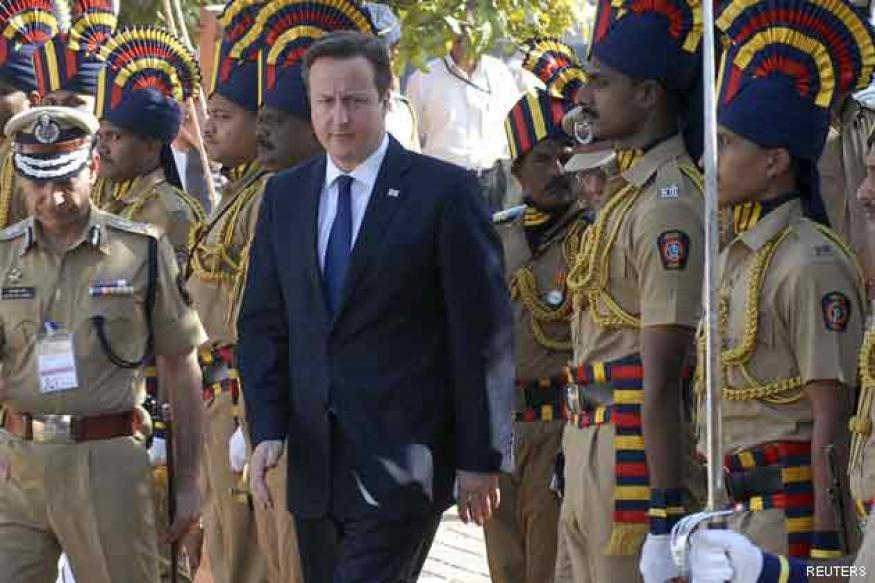 David Cameron to meet PM Manmohan Singh today