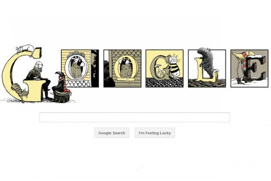 Google pays tribute to Edward Gorey on his 88th birthday with a doodle