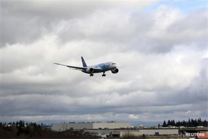 Boeing completes 'uneventful' test flight of 787 Dreamliner